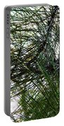 Sunshine Through Pine Needles Portable Battery Charger