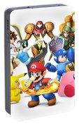 Super Smash Bros. For Nintendo 3ds And Wii U Portable Battery Charger