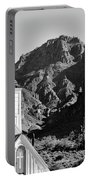 Superstition Mountain And Elvis Church Portable Battery Charger