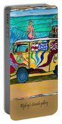 Surf Art/vw Bus Portable Battery Charger