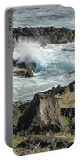 Surf Pounding Ohua Coast   Portable Battery Charger