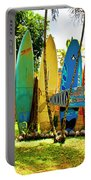 Surfboard Fence II-the Amazing Race Portable Battery Charger