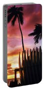 Surfboard Sunset Portable Battery Charger