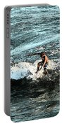 Surfer On Wave Portable Battery Charger