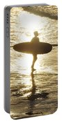 Surfers Last Sunlight Portable Battery Charger