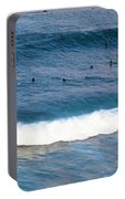Surfing At Honolua Bay Portable Battery Charger