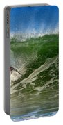 Surfing The Winter Atlantic Portable Battery Charger