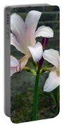 Surprise Lilies Portable Battery Charger