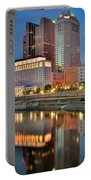 Surreal Columbus Ohio Portable Battery Charger