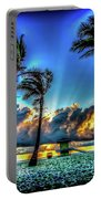 Surreal Sunrise Portable Battery Charger