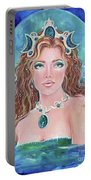 Surrender To The Sea Mermaid Portable Battery Charger