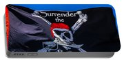 Surrenderthe Booty Flag Portable Battery Charger