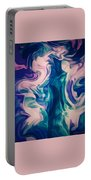 Surrounded By An Aura Of Love Portable Battery Charger