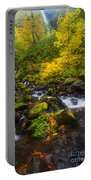 Surrounded By Fall Color Portable Battery Charger