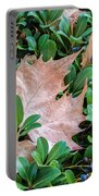 Surrounded Leaf Portable Battery Charger