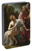 Susanna And The Elders Portable Battery Charger