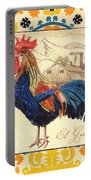 Suzani Rooster 1 Portable Battery Charger