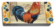 Suzani Rooster 2 Portable Battery Charger