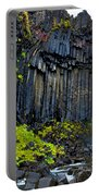 Svartifoss Waterfall - Iceland Portable Battery Charger