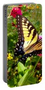 Swallow Tail Butterfly Enjoying The Sunshine Portable Battery Charger