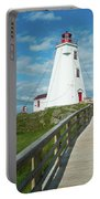 Swallowtail Lighthouse Portable Battery Charger
