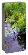 Swamp Plants Portable Battery Charger