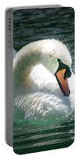Swan Bow Portable Battery Charger