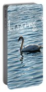 Swan Miss You Portable Battery Charger