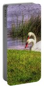 Swan Pair Warm Color Portable Battery Charger