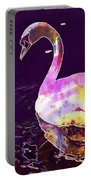 Swan Water Bird Water River  Portable Battery Charger