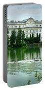 Swans On Austrian Lake Portable Battery Charger