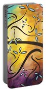 Sweet Blossom By Madart Portable Battery Charger