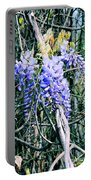 Sweet Briar Wisteria Portable Battery Charger