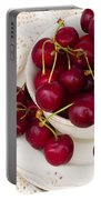 Sweet Cherry  Portable Battery Charger