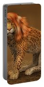Sweet Lady Leopard Portable Battery Charger