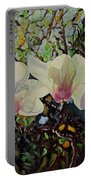 Sweet Magnolias Portable Battery Charger