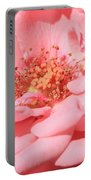 Sweet Pink Rose  Portable Battery Charger