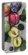 Sweet Plums  Portable Battery Charger