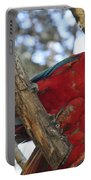 Sweetness - Scarlet Macaws Portable Battery Charger