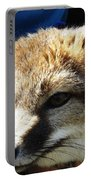 Swift Fox With Oil Painting Effect Portable Battery Charger