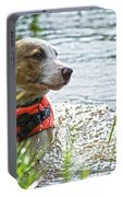 Swimming Family Dog Portable Battery Charger