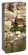 Swimming Hole At Slide Rock Portable Battery Charger