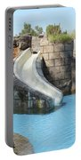 Swimming Pool With Slide For Children Portable Battery Charger