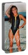 Swimsuit Girl Ad Portable Battery Charger