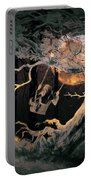 Swinging Through The Forest By Moonlight Portable Battery Charger