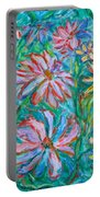Swirling Color Portable Battery Charger