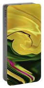 Swirling Colors Portable Battery Charger
