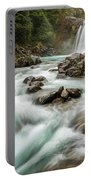 Swirling Waters - Tawhai Falls Portable Battery Charger