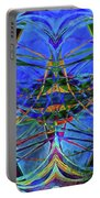Swirls Abstract Portable Battery Charger