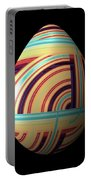 Swirly Easter Egg Portable Battery Charger